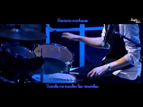 CNBLUE - Love in the Rain [LIVE] [Sub Español + Hangul + Roman]