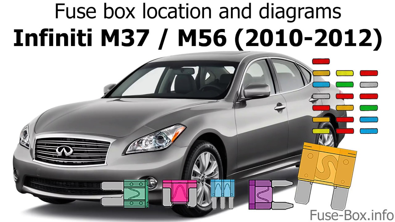 06 Infiniti M35 Fuse Box Diagram
