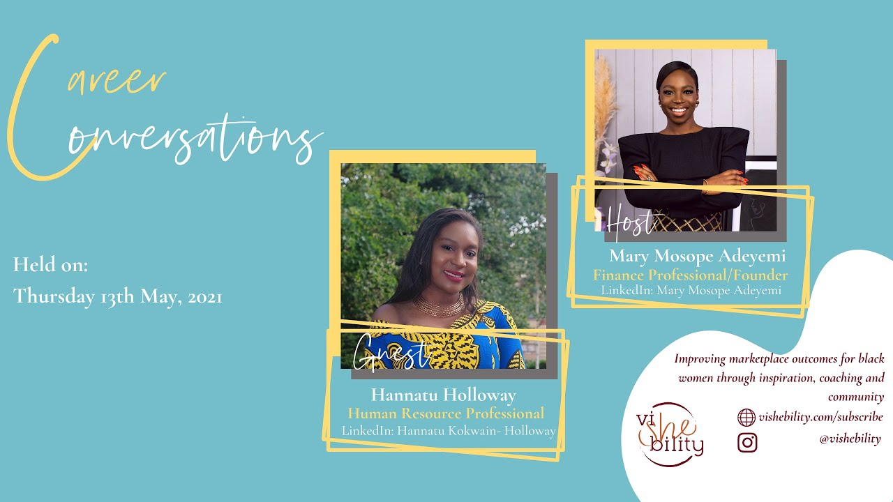 Download viSHEbility Career Conversation with Hannatu Holloway, Human Resources Professional and Leader