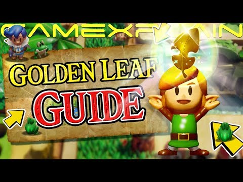 How to Find the 5 Golden Leaves in Zelda: Link's Awakening (Switch Guide & Walkthrough)