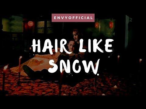 Hair Like Snow W/ English Lyrics