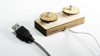 Building an Etch-a-Sketch USB Mouse