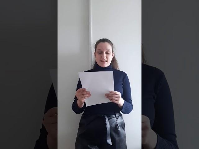 Чернеева Кристина читает произведение «Детство» (Бунин Иван Алексеевич)