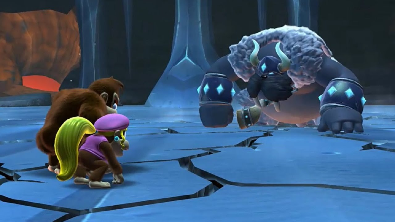 Image result for Donkey Kong Country Tropical Freeze final boss
