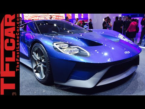 2016 Ford Gt Get Up Close And Personal With The New Stunning Sports Car