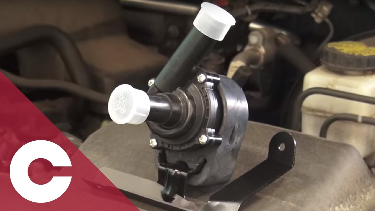 hight resolution of cardone 100 new auxiliary coolant pumps and installation