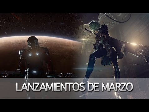 Vlog | Lanzamientos Marzo 2017 | NieR: Automata, Mass Effect: Andromeda