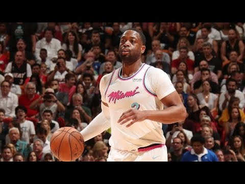 Dwyane Wade Receives a Standing Ovation in Return to Miami, Gets His First Bucket | February 9, 2018