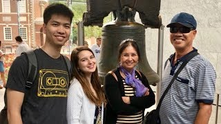 Learning About American History in Philadelphia!   Học lịch sử Mỹ ở TP Philadelphia