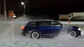Audi RS6 C6 snow drift