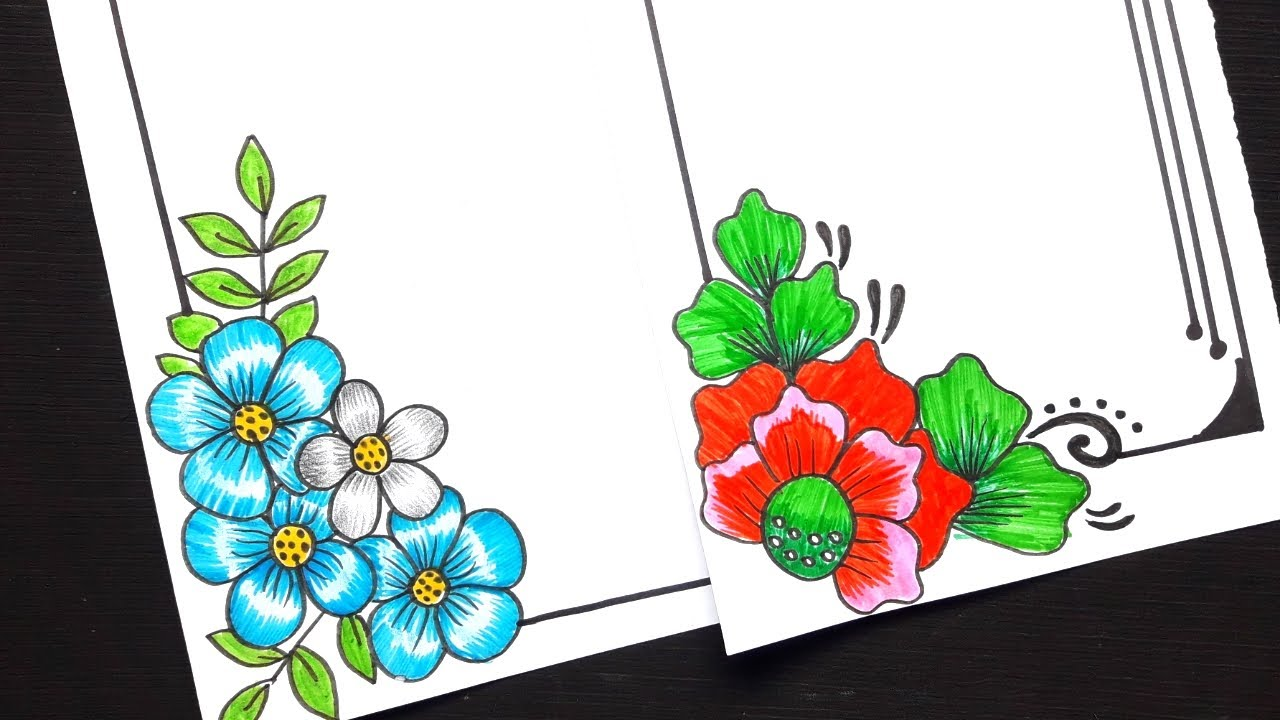 Simple Flower Designs To Draw Flower Drawing Designs Step By Step Flowers Drawing Pictures Pencil Youtube