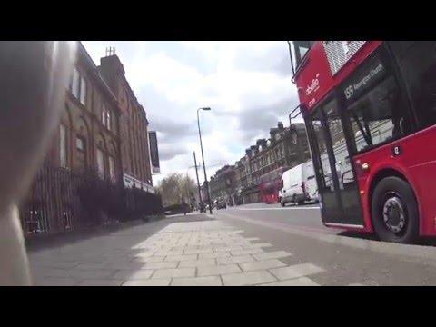 Лондонский автобус для колясочников