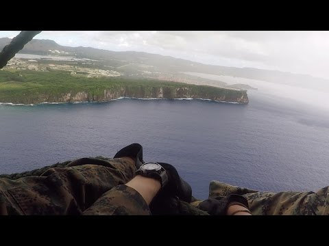Fast Roping in Guam -- GoPro Hero 5
