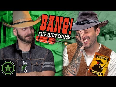 WHO SHOT THE SHERIFF? - BANG! The Dice Game - Let's Roll