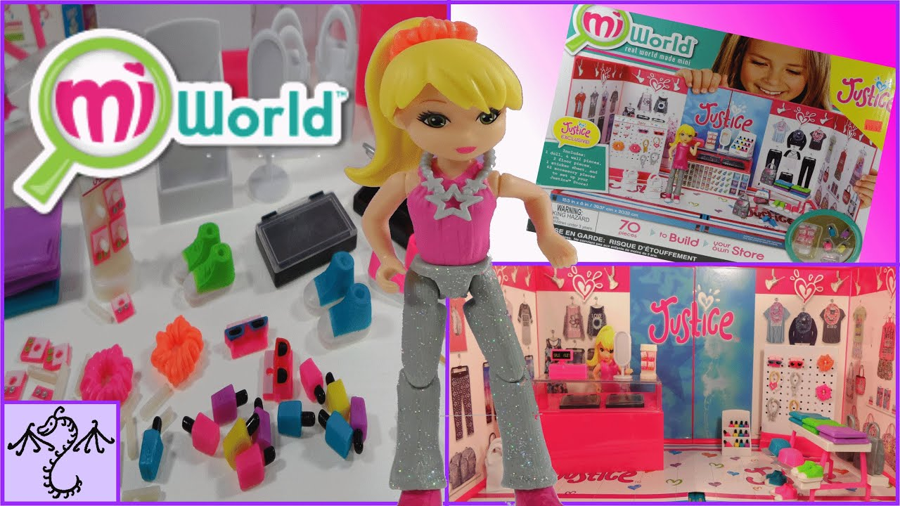 Just For Girls Toys : Miworld justice store toy review youtube