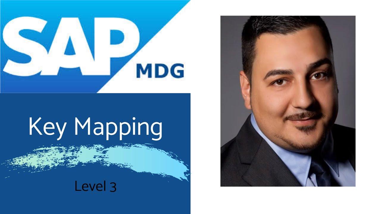 SAP Master Data Governance Key Mapping Level YouTube - Sap data mapping