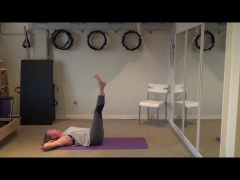 TC Pilates - 30 minute Pilates Mat Class - Level - Intermediate/Advanced