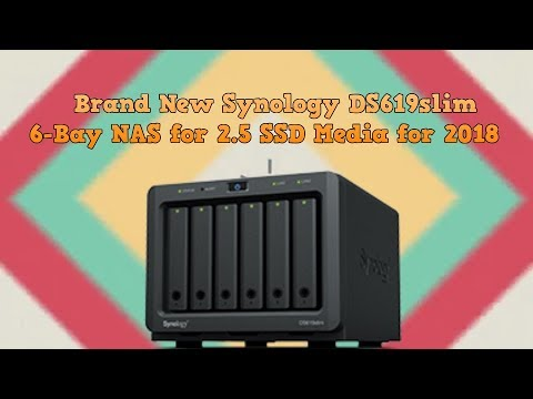 Brand New Synology DS619slim 6 Bay NAS for 2 5 SSD Media for 2018