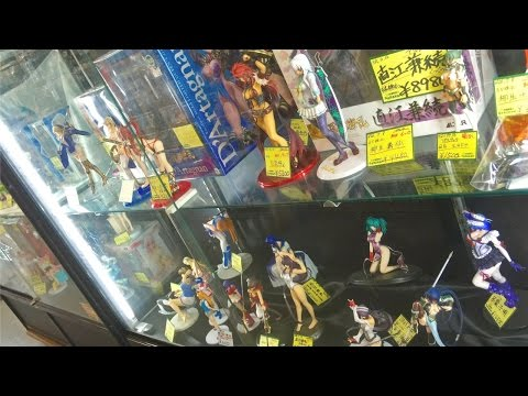 Anime Figure Shopping in Japan - Japanese Recycle/Thrift Store