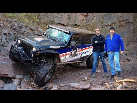 BF Goodrich KO2 Jeep Crawl with ACP at Hunter Ski Mountain!