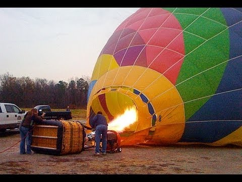 Tucson Hot Air Balloon - Preparation, Take Off and Flight