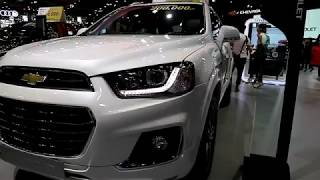 Chevrolet Captiva LTZ 2018 ,White colour ,Exterior and Interior