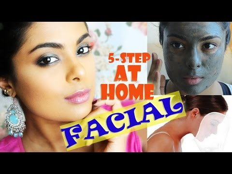 How To Do Facial At Home - DIY Spa - Step by Step Tutorial For At Home Pamper Routine