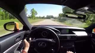2015 Lexus RC350 F Sport - WR TV POV Test Drive