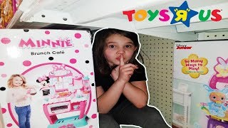 Best Hide And Seek Spot in Toys R Us! Extreme Hide and Seek in Toys R Us