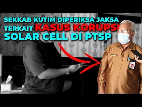 DIPERIKSA JAKSA, Gara-Gara KASUS KORUPSI Solar Cell
