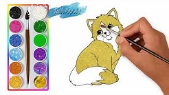 Warna Glitter Belajar Menggambar Dan Belajar Mewarnai Binatang