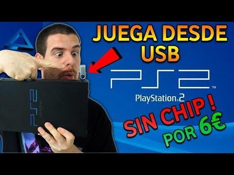 PlayStation 2: Cómo Cargar JUEGOS De PS2 Por USB 🛠 Sin CHIP Ni Abrir La Consola 🛠 TUTORIAL MUY FÁC