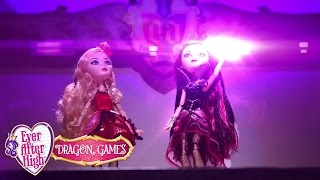 Stop Motion Ever After High On Set | Dragon Games | Ever After High