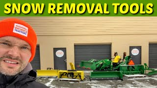 Got Snow? Snow Removal Options For Your John Deere 1025r Tractor.  For The 1023e & 1026r Too!
