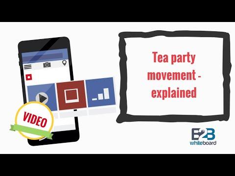 Tea party movement - explained