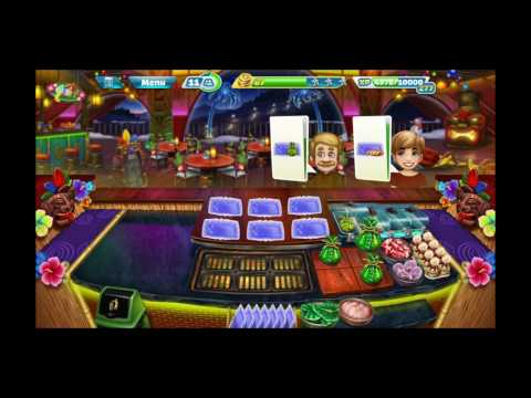 Generate Play in new aloha bistro cooking fever..is so easy Snapshots