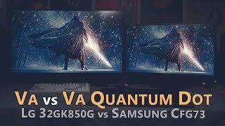 Video LG 32GK850G vs Samsung CFG73 / CFG70 - VA vs VA Quantum Dot download MP3, 3GP, MP4, WEBM, AVI, FLV Oktober 2018