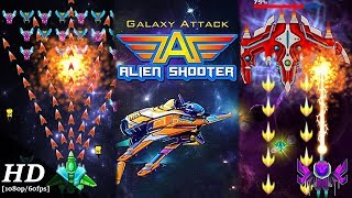 Galaxy Attack: Alien Shooter Android Gameplay [60fps]