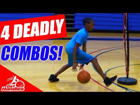 4 Deadly Between The Legs COMBO MOVES To Beat Defenders! Basketball Drills For Kids