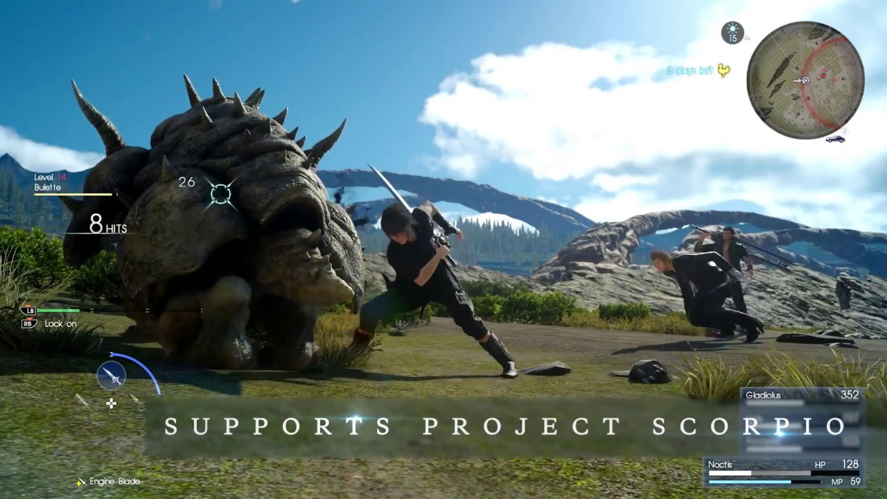 Final Fantasy XV Universe - China Joy Trailer (new footage