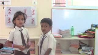 Sp.English Class - UKg Children by Radhika