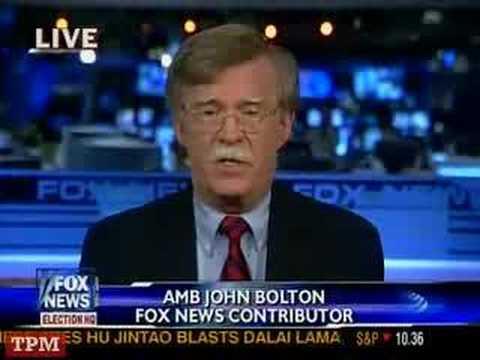 John Bolton: We Must Bomb Iran Now