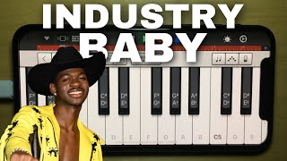 """Recreating Industry Baby"""" using IPHONE!"""
