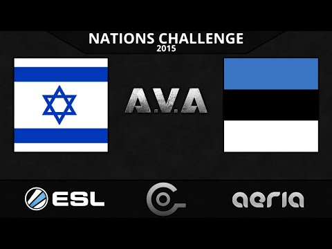 CGO AVA - Israel vs Estonia - Group Stage W1 - ESL Nations Challenge 2015