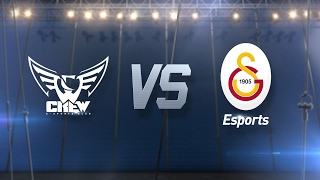 Oyunfor.CREW ( CRW ) vs Galatasaray Esports ( GS ) 2. Maç | 2017 Kış Mevsimi 4. Hafta