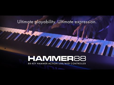 Introducing M-Audio Hammer 88 (feat. Joel Holmes)