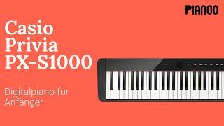 E-Piano-Test: Casio PX-S1000 - Digitalpiano für Anfänger