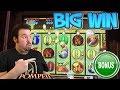 POMPEII Live play MAX BET BONUS and BIG WIN FREE GAMES Slot Machine