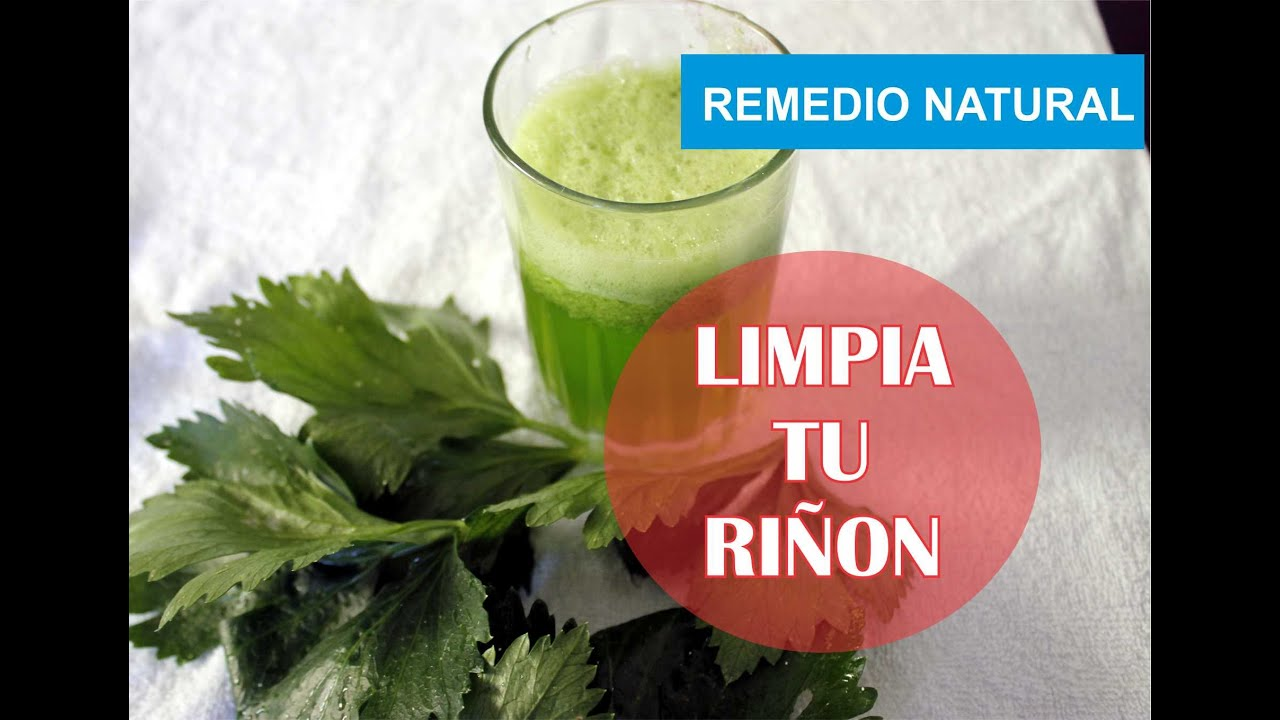 LIMPIA TU RIÑON RECETA NATURAL