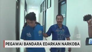 Pegawai Bandara Edarkan Narkoba Ditangkap Petugas BNN Bali